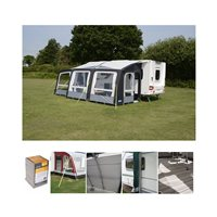 Kampa Dometic Rally Air Pro 390 PLUS Caravan Awning Package Deal 2019 RIGHT