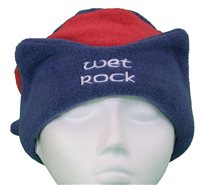White Rock Blue and Red Fleece Hat