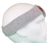 White Rock Little Devil Fleece Headband (Option: Grey)