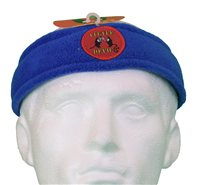 White Rock Little Devil Fleece Headband (Option: Blue)