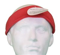 White Rock Little Devil Fleece Headband (Option: Red)