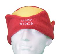 White Rock Red and Yellow Fleece Hat