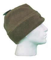 White Rock Round Crown Microfleece Hat (Option: Brown)