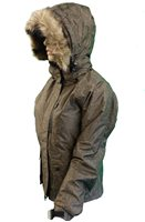 White Rock Ladies Parka Jacket - Tattoo Print