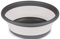Kampa Dometic Round Collapsible Washing Bowl  (Option: Large - Grey)