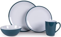 Kampa Dusk Blue Heritage Dinner Set 2019