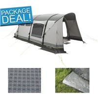 Outwell Broadview 4SATC Air Tent Package Deal 2018