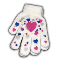 Camping World Kids Gripper Gloves (Option: Hearts)
