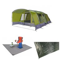 Vango Capri 600XL Airbeam Tent Package 2018