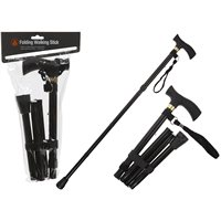Summit Folding Black Walking Pole 2018