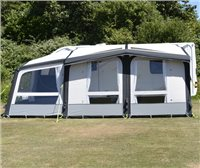 Kampa Club Air PRO 390 PLUS Caravan Awning 2019