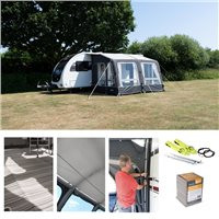 Kampa Dometic Grande Air All Season 330 Caravan Awning Package Deal 2020