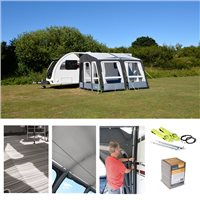 Kampa Grande AIR Pro 330 Caravan Awning Package Deal 2019
