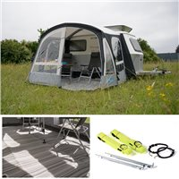 Kampa Dometic Pop AIR Pro 290 Caravan Awning Package Deal 2020
