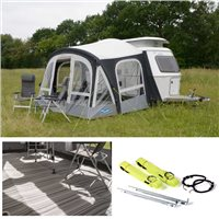 Kampa Dometic Pop Pro Air 340 Caravan Awning Package Deal 2020