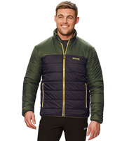 Regatta Icebound IV Mens Jacket Dark Khaki/Black  2018