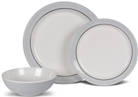 Kampa Classic Grey Dinner Set