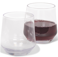 Kampa Soho Tumbler/Stemless Wine Glass