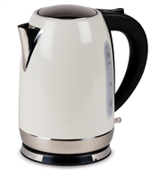 Kampa Stainless Steel Cream Electric Kettle