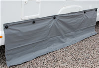 Kampa Dometic Dual Fix Draught Skirt 70cm Drop with Limpets