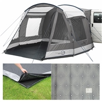 Easy Camp Shamrock Drive-away Awning Package Deal 2019