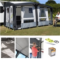 Kampa Dometic Club Air PRO 390 Awning Package Deal 2019