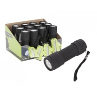 Summit 9 LED Rubber Finish Torch