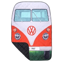 VW Quilted Picnic Rug (Option: Red)