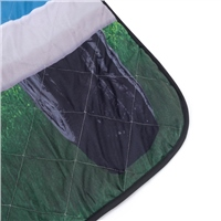 VW Quilted Picnic Rug (Option: Blue)
