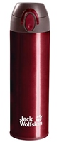 Jack Wolfskin Thermolite Bottle  (Option: Dark Red )