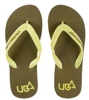 Urban Beach Boys Royale Brown Flip Flops