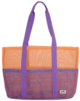 Yello Purple Mesh Beach Bag