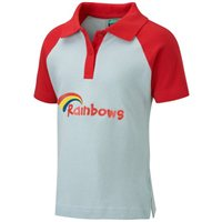 David Luke Rainbow Polo Shirt