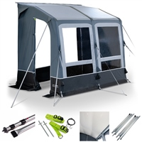 Kampa Dometic Winter AIR PVC 260 Caravan Awning Package Deal 2020