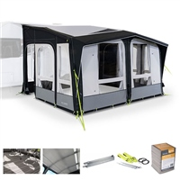 Kampa Dometic Club AIR Pro 390 Caravan Awning Package Deal 2020