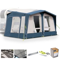 Kampa Dometic Mobil AIR Pro 361/391 Caravan Awning Package Deal 2020