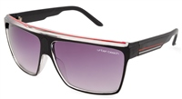 Urban Beach Shield Black Sunglasses