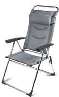 Kampa Dometic Lusso Milano Ultimate Comfort Chair  (Option: Pebble Grey )