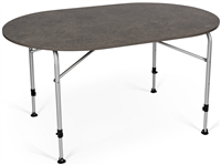 Kampa Dometic Zero Concrete Oval Table