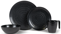 Kampa Ebony Cobble Dinner Set