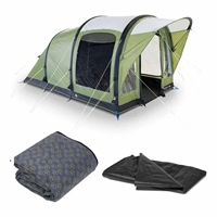 Kampa Brean 3 Air Tent Package 2020