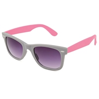 Urban Beach Womens Two Tone Sunglasses Slate/Pink