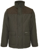 Champion Lewis Mens Quilted Jacket Olive