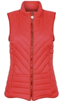 Champion Saltburn Womens Gilet Red
