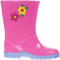 Johnscliffe Stormwells  Childs Wellies Pink/Lilac