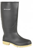 Dunlop Junior/Youths Black Wellies
