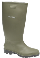Dunlop Pricemastor Wellies Green/Black