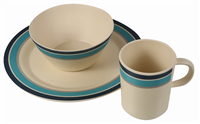 Regatta Bamboo Crockery 4P 2020