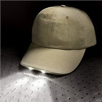 Unipart Baseball Cap with Fitted LED Light