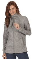 Regatta Evanna Womens Zip Fleece Rock Grey 2021